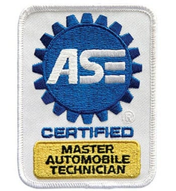 ASE Certification patch