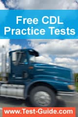 Free CDL Practice Tests from www.Test-Guide.com/CDL-Test/