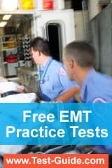 Free EMT Practice Tests from www.Test-Guide.com/EMT-Test/
