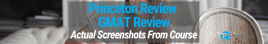 Princeton Review GMAT Review