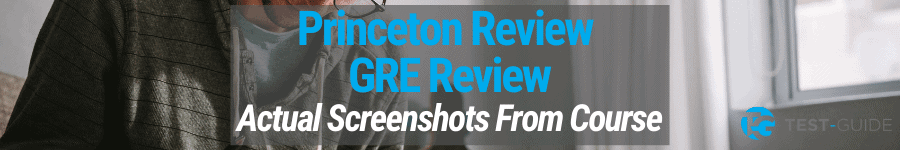Princeton Review GRE Review
