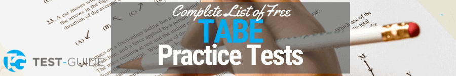 TABE practice tests