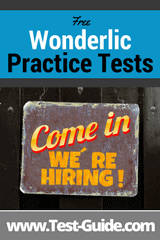 Wonderlic Practice Tests