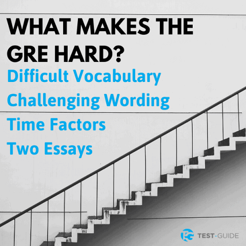 what makes the gre hard